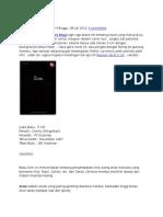 Review Novel 5 Cm
