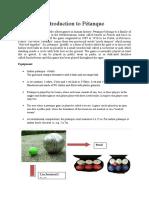 Petanque Revised