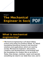Mechanical Engineers in Society