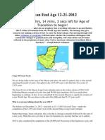 Mayan End Age 12-21-2012