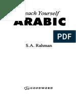 Teach Yourself Arabic - S. A. Rahman.pdf
