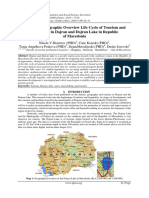 Historical–Geographic Overview Life Cycle of Tourism and Hospitality in Dojran and Dojran Lake in Republic of Macedonia