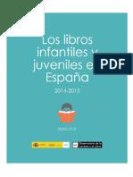 Los libros infantiles y juveniles en España (2014-2015)