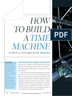 How to Build a Time Machine-Paul Davis--scientificamerican0902-50
