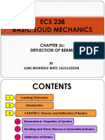 ECS 238 - Chapter 2c (Deflection of Beams)