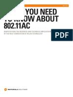 Motoroal - 802.11ac White Paper