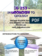 Geology Chapter 1.1