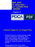 Static Analysis-Laterally Loaded Pile Design