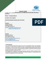Solar PVC Project Proposal