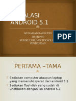 Instalasi Android 5.1