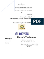 aproject  report on finacial performcent at andhar paper mill karthika projct 1232