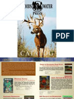 Catalog for Outdoor Books - Woods N' Water Press