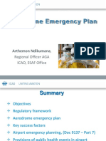 Aerodrome Emergency Plan Presentation