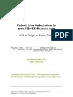 Patent Idea Template r1