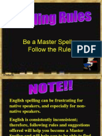 Spelling Rules