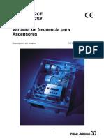Manual de Instrucciones ZETADYN 2CF2SY