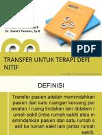 Transfer Untuk Terapi Definitif