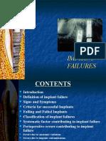Implant Failures