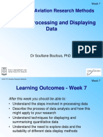 Week 7 Processing and Displaying Data SBoufous