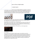 reports on theory of digital graphics
