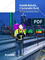 2015 Fluor Sustainability Report