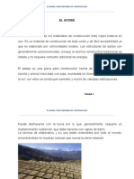 EL ADOBE EN LA CONSTRUCCIÓN DESDE LA ANTIGUEDAD