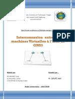 Rapport Projet GNS3