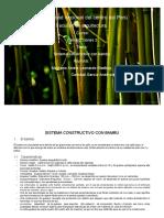 Sistema Constructivo Del Bambu