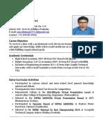 Resume Saurab(Latest)