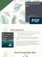 Penentuan Umur Ikan PPT