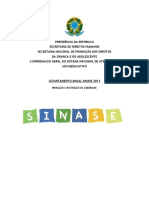 Levantamento SINASE-2013