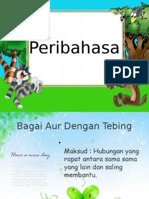 Peribahasa N Simpulan Bahasa