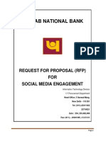 Request for Proposal for Social Media Engagement