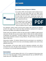 Nalco and NTPC Tie a Nod for Power Project
