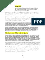 Info on Usul Al-Fiqh Document
