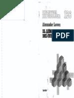 Lowen Alexander - El Lenguaje Del Cuerpo (Scan)