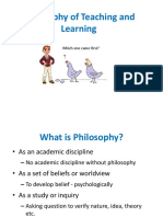 Philosophy of Teaching and Learning