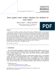 Does Piped Water Reduce Diarrhea for Children in Rural India 2003 Journal of Econometrics