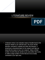 Literature Review Chapter 2