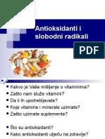 Antioksidanti i Slobodni Radikali