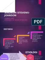 Presentasi Stevens Johnson Syndrome