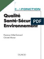 Toute La Fonction QSSE (Qualité Sécurité Environnement)