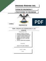 ENSAYO DE DURABILIDAD DE SUELOS