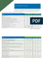 Datasheet EFT Comparison