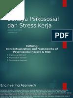 Bahaya Psikososial Dan Stress Kerja