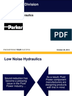 Low Noise Hydraulics