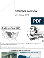 semester review slide show