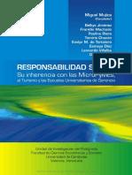 Responsabilidad Social Su Inherencia Con Las MicroPyMEs, El Turismo y Las Escuelas Universitarias de Gerencia