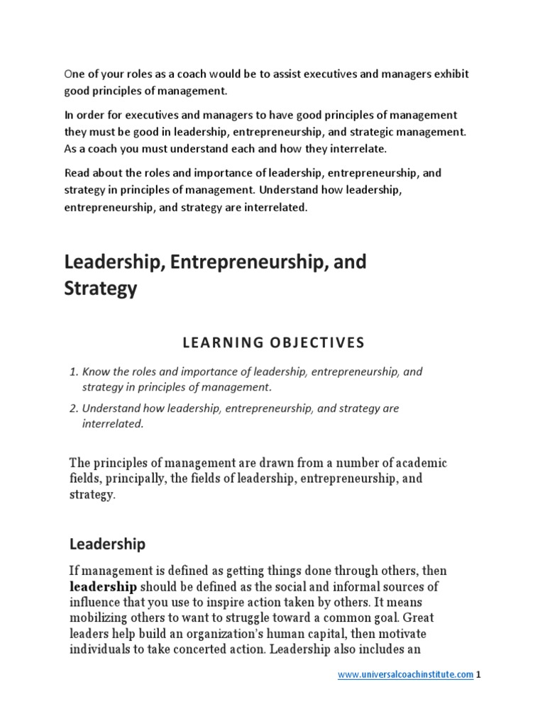2 leadership entrepreneurship and strategic managementpdf 2 leadership entrepreneurship and strategic managementpdf strategic management entrepreneurship fandeluxe Image collections