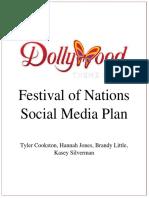 festival of nations social media plan